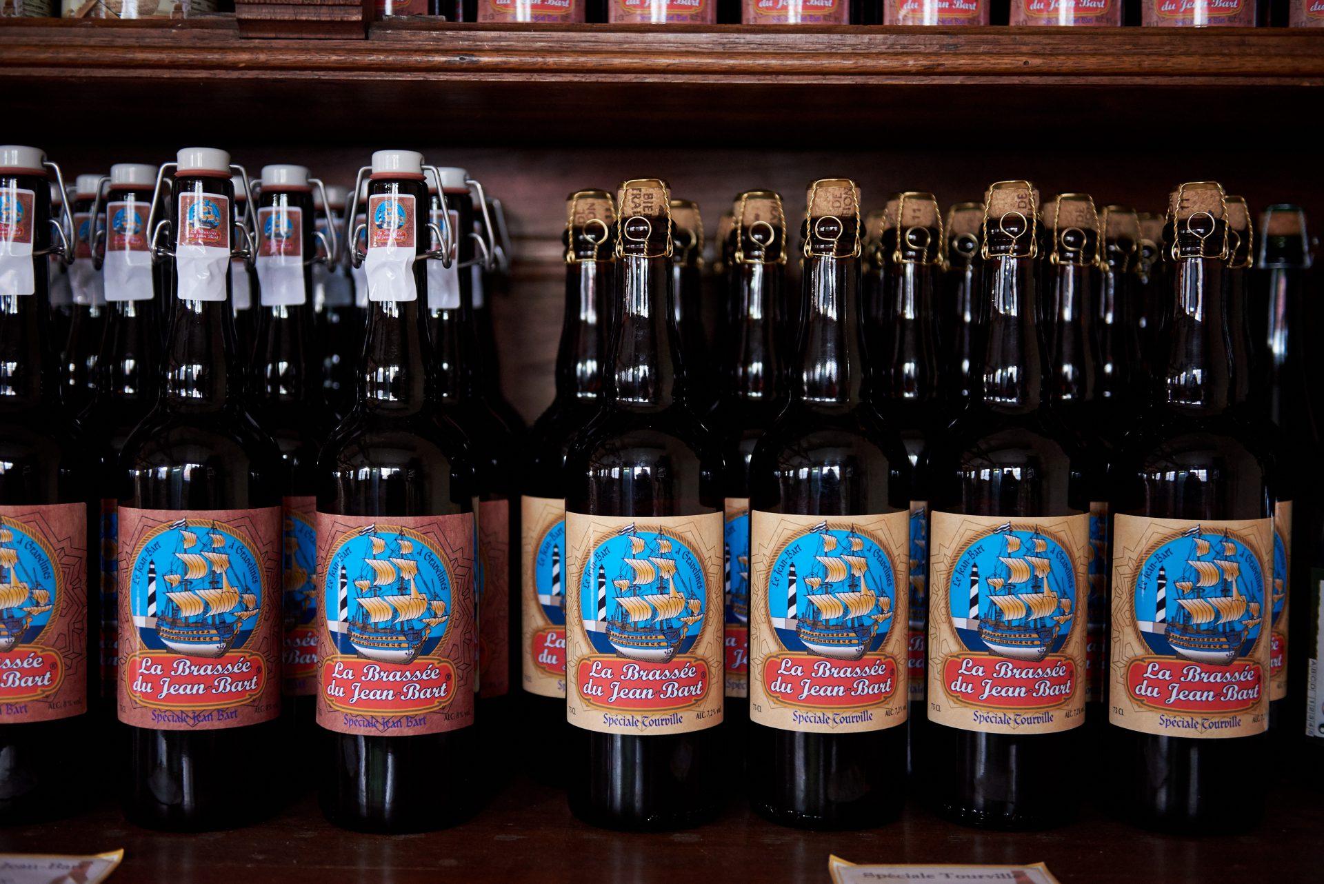 Bière en vente dans la Boutique