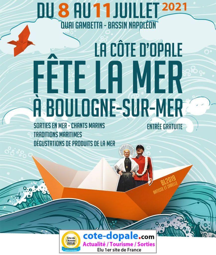 Le Jean Bart sera présent lors des Fêtes de la Mer à Boulogne du 08 au 11 Juillet 2021.